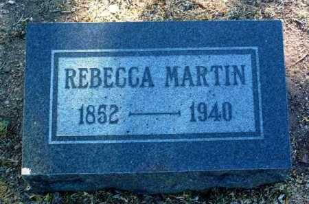 MAHAN MARTIN, REBECCA - Yavapai County, Arizona | REBECCA MAHAN MARTIN - Arizona Gravestone Photos