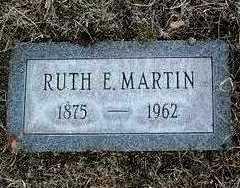 HILL MARTIN, RUTH EVA - Yavapai County, Arizona | RUTH EVA HILL MARTIN - Arizona Gravestone Photos