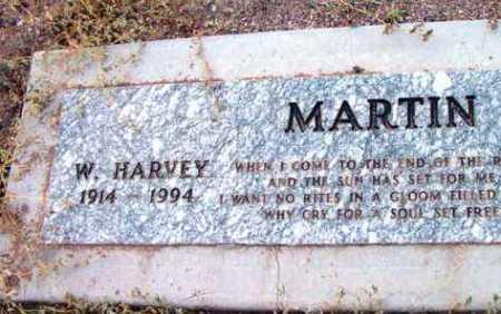 MARTIN, W. HARVEY - Yavapai County, Arizona | W. HARVEY MARTIN - Arizona Gravestone Photos