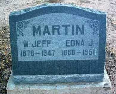 MARR MARTIN, EDNA JANE - Yavapai County, Arizona   EDNA JANE MARR MARTIN - Arizona Gravestone Photos