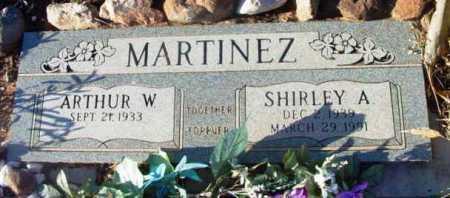 MARTINEZ, SHIRLEY A. - Yavapai County, Arizona | SHIRLEY A. MARTINEZ - Arizona Gravestone Photos