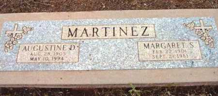 MARTINEZ, AUGUSTINE D. - Yavapai County, Arizona | AUGUSTINE D. MARTINEZ - Arizona Gravestone Photos
