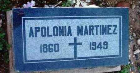 MARTINEZ, APOLONIA - Yavapai County, Arizona | APOLONIA MARTINEZ - Arizona Gravestone Photos