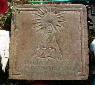 MARTINEZ, ANDY - Yavapai County, Arizona | ANDY MARTINEZ - Arizona Gravestone Photos