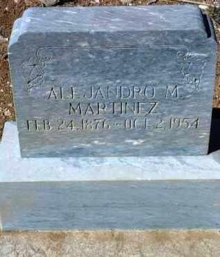 MARTINEZ, ALEJANDRO M., SR. - Yavapai County, Arizona   ALEJANDRO M., SR. MARTINEZ - Arizona Gravestone Photos