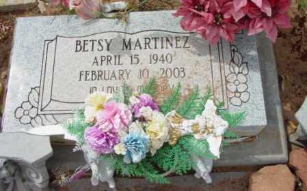 MARTINEZ, BETSY - Yavapai County, Arizona   BETSY MARTINEZ - Arizona Gravestone Photos