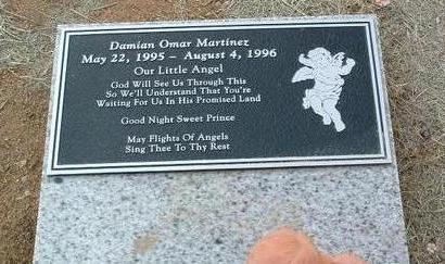 MARTINEZ, DAMIAN OMAR - Yavapai County, Arizona | DAMIAN OMAR MARTINEZ - Arizona Gravestone Photos