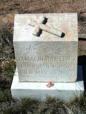 MARTINEZ, DAMACIO - Yavapai County, Arizona | DAMACIO MARTINEZ - Arizona Gravestone Photos