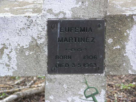 MARTINEZ, EUFEMIA - Yavapai County, Arizona | EUFEMIA MARTINEZ - Arizona Gravestone Photos