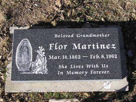 MARTINEZ, FLOR - Yavapai County, Arizona   FLOR MARTINEZ - Arizona Gravestone Photos