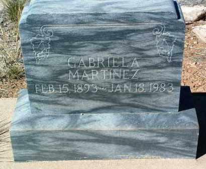 MARTINEZ, GABRIELA - Yavapai County, Arizona   GABRIELA MARTINEZ - Arizona Gravestone Photos