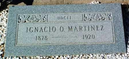 MARTINEZ, IGNACIO O. - Yavapai County, Arizona | IGNACIO O. MARTINEZ - Arizona Gravestone Photos