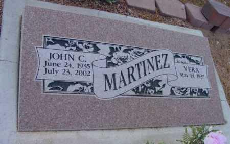 MARTINEZ, JOHN CORDOVA - Yavapai County, Arizona | JOHN CORDOVA MARTINEZ - Arizona Gravestone Photos