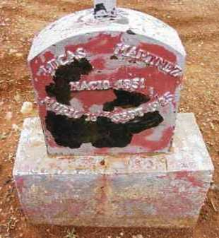 MARTINEZ, LUCAS - Yavapai County, Arizona | LUCAS MARTINEZ - Arizona Gravestone Photos