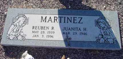 MARTINEZ, REUBEN R. - Yavapai County, Arizona | REUBEN R. MARTINEZ - Arizona Gravestone Photos
