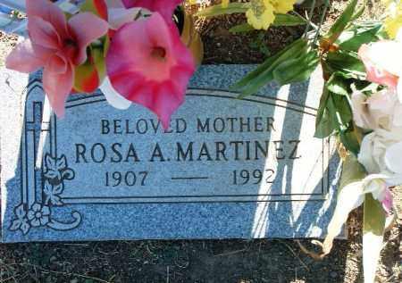 ACOSTA MARTINEZ, ROSA A. - Yavapai County, Arizona | ROSA A. ACOSTA MARTINEZ - Arizona Gravestone Photos