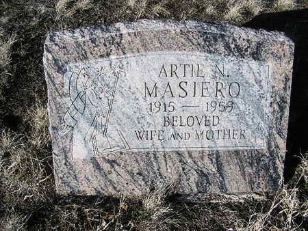 HICKMAN MASIERO, ARTIE NEOMA - Yavapai County, Arizona | ARTIE NEOMA HICKMAN MASIERO - Arizona Gravestone Photos