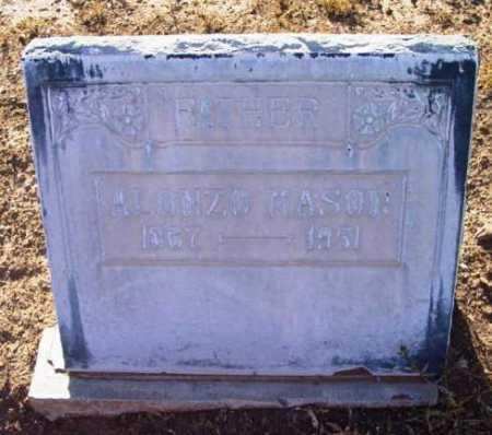 MASON, ALONZO - Yavapai County, Arizona | ALONZO MASON - Arizona Gravestone Photos