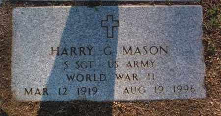 MASON, HARRY GROVER - Yavapai County, Arizona | HARRY GROVER MASON - Arizona Gravestone Photos