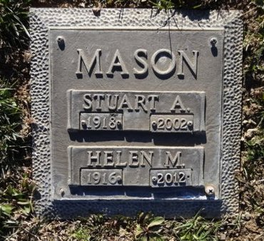 MASON, HELEN M. - Yavapai County, Arizona | HELEN M. MASON - Arizona Gravestone Photos