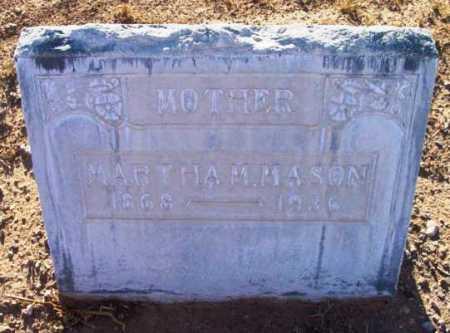 MOSS MASON, MARTHA MAY - Yavapai County, Arizona | MARTHA MAY MOSS MASON - Arizona Gravestone Photos