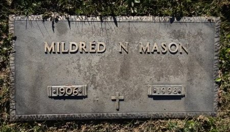 MASON, MILDRED N. - Yavapai County, Arizona | MILDRED N. MASON - Arizona Gravestone Photos