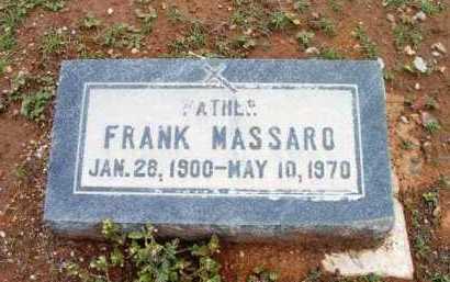 MASSARO, FRANK - Yavapai County, Arizona | FRANK MASSARO - Arizona Gravestone Photos