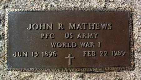 MATHEWS, JOHN RUFUS - Yavapai County, Arizona | JOHN RUFUS MATHEWS - Arizona Gravestone Photos