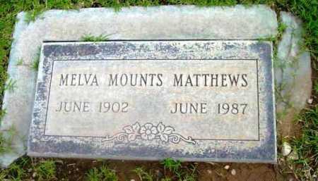 MOUNTS, MELVA - Yavapai County, Arizona | MELVA MOUNTS - Arizona Gravestone Photos