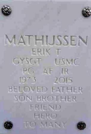 MATHIJSSEN, ERIK THOMAS - Yavapai County, Arizona   ERIK THOMAS MATHIJSSEN - Arizona Gravestone Photos
