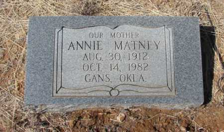 MATNEY, ANNE - Yavapai County, Arizona | ANNE MATNEY - Arizona Gravestone Photos
