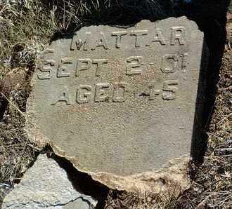 MATTAR, EMILE - Yavapai County, Arizona | EMILE MATTAR - Arizona Gravestone Photos