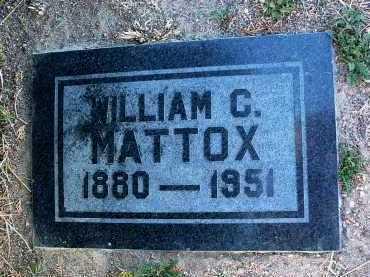 MATTOX, WILLIAM COLUMBUS - Yavapai County, Arizona   WILLIAM COLUMBUS MATTOX - Arizona Gravestone Photos