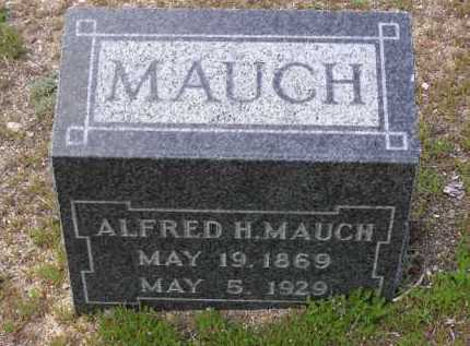 MAUCH, ALFRED H. - Yavapai County, Arizona | ALFRED H. MAUCH - Arizona Gravestone Photos