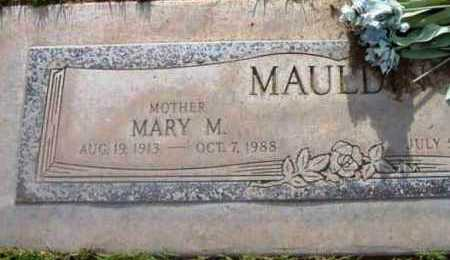 MAULDIN, MARY MINYON - Yavapai County, Arizona   MARY MINYON MAULDIN - Arizona Gravestone Photos