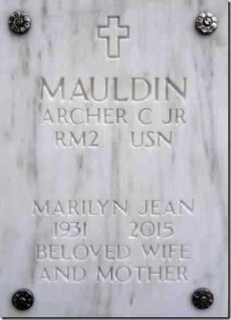MAULDIN, MARILYN JEAN - Yavapai County, Arizona | MARILYN JEAN MAULDIN - Arizona Gravestone Photos