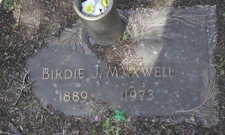 MAXWELL, BIRDIE JOSEPHINE - Yavapai County, Arizona | BIRDIE JOSEPHINE MAXWELL - Arizona Gravestone Photos