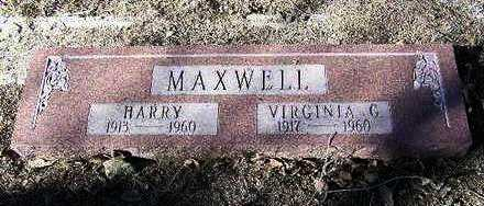 MAXWELL, VIRGINIA G. - Yavapai County, Arizona | VIRGINIA G. MAXWELL - Arizona Gravestone Photos