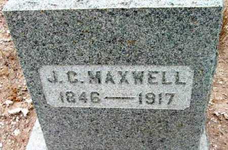 MAXWELL, J.C. - Yavapai County, Arizona   J.C. MAXWELL - Arizona Gravestone Photos