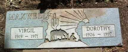 HAGAN MAXWELL, DOROTHY - Yavapai County, Arizona | DOROTHY HAGAN MAXWELL - Arizona Gravestone Photos