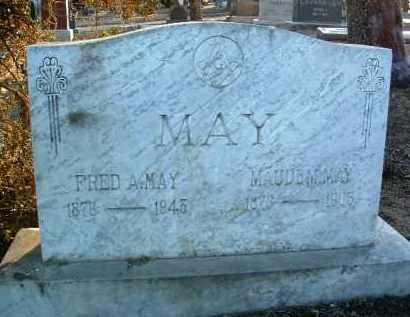 MAY, MAUDE M. - Yavapai County, Arizona | MAUDE M. MAY - Arizona Gravestone Photos