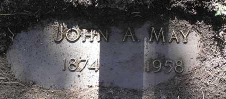 MAY, JOHN A. - Yavapai County, Arizona | JOHN A. MAY - Arizona Gravestone Photos
