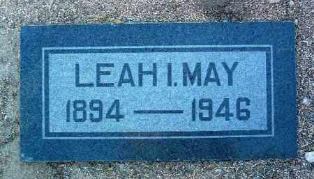 MASUR MAY, LEAH I. - Yavapai County, Arizona   LEAH I. MASUR MAY - Arizona Gravestone Photos