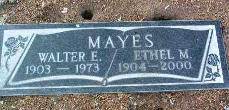 MAYES, ETHEL MAY - Yavapai County, Arizona | ETHEL MAY MAYES - Arizona Gravestone Photos