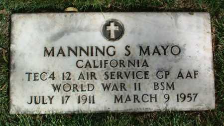 MAYO, MANNING S. - Yavapai County, Arizona   MANNING S. MAYO - Arizona Gravestone Photos