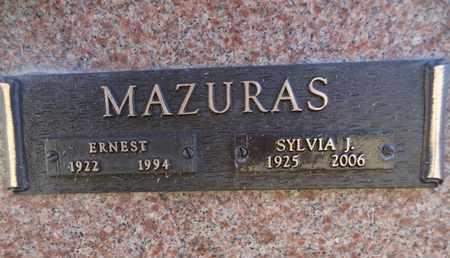 JANULIS MAZURAS, SYLVIA J. - Yavapai County, Arizona | SYLVIA J. JANULIS MAZURAS - Arizona Gravestone Photos