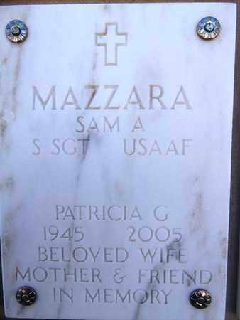 MAZZARA, SAM A. - Yavapai County, Arizona | SAM A. MAZZARA - Arizona Gravestone Photos