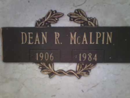 MCALPIN, DEAN ROBERT - Yavapai County, Arizona | DEAN ROBERT MCALPIN - Arizona Gravestone Photos