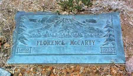CLARK MCCARTY, FLORENCE - Yavapai County, Arizona   FLORENCE CLARK MCCARTY - Arizona Gravestone Photos