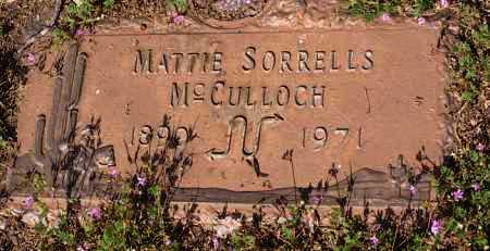 WELTY MCCULLOCH, MATTIE - Yavapai County, Arizona | MATTIE WELTY MCCULLOCH - Arizona Gravestone Photos